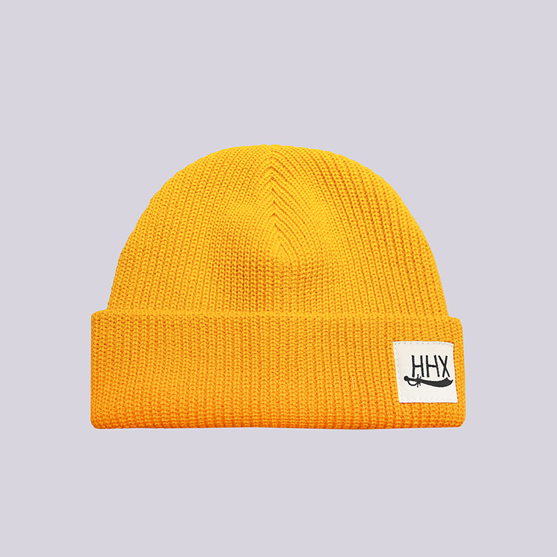 Шапка ННХ Б4Шапки<br>Акрил<br><br>Цвет: Желтый<br>Размеры : OS