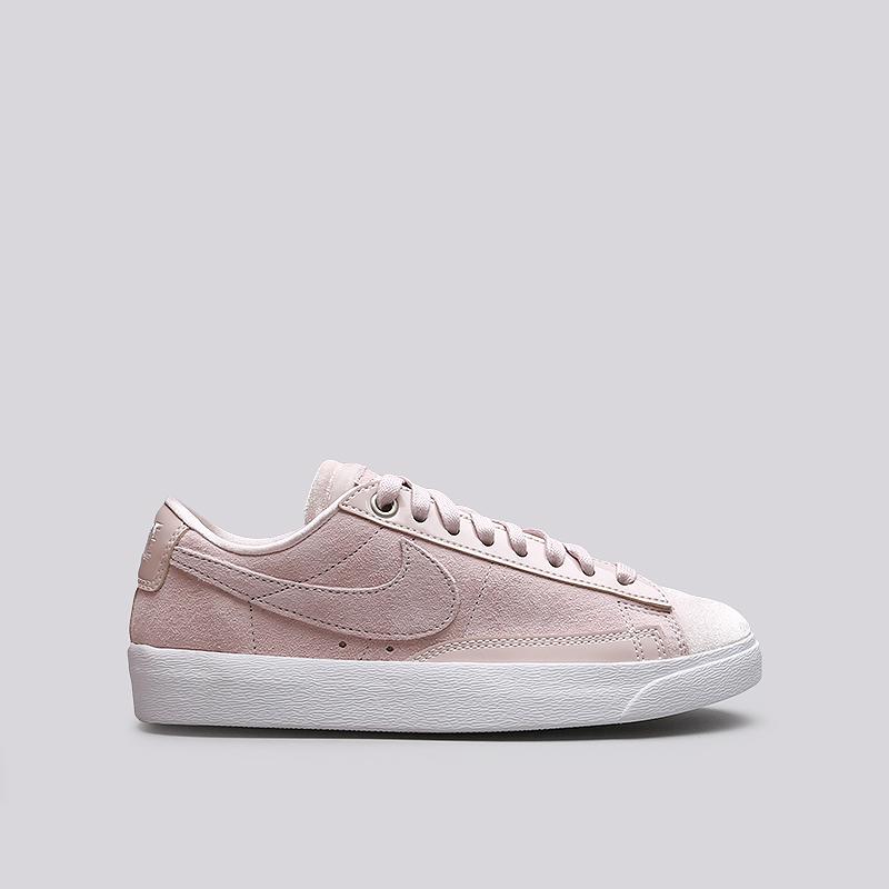 Кроссовки Nike WMNS Blazer Low LXКроссовки lifestyle<br>Кожа, текстиль, резина<br><br>Цвет: Розовый<br>Размеры US: 9;10<br>Пол: Женский