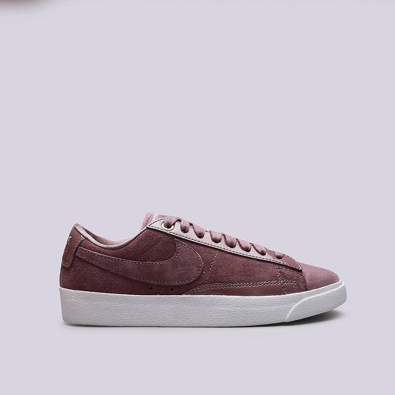 Кроссовки Nike WMNS Blazer Low LXКроссовки lifestyle<br>Кожа, текстиль, резина<br><br>Цвет: Бордовый<br>Размеры US: 5;6;7;7.5;8;9;10<br>Пол: Женский