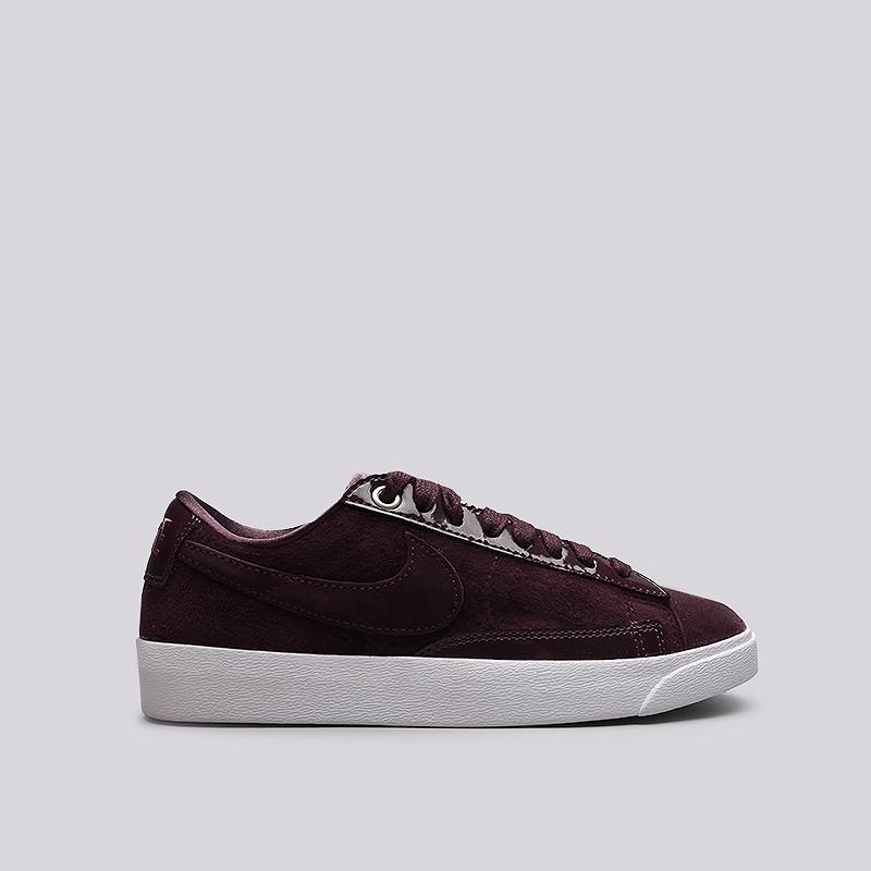 Кроссовки Nike WMNS Blazer Low LXКроссовки lifestyle<br>Кожа, текстиль, резина<br><br>Цвет: Бордовый<br>Размеры US: 5;7;8.5;9;10<br>Пол: Женский