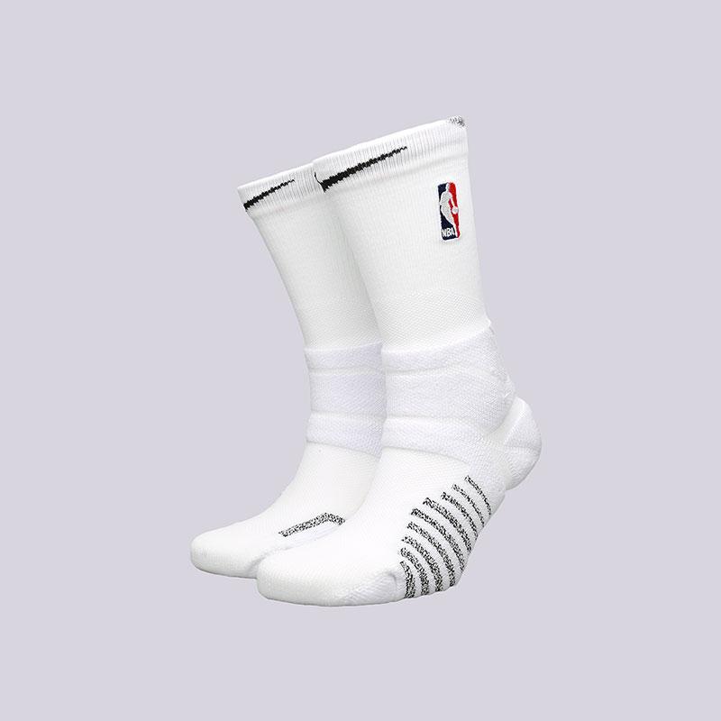 Носки Nike NikeGrip Power CrewНоски<br>Полиэстер, нейлон, хлопок, эластан<br><br>Цвет: Белый<br>Размеры US: M;XL<br>Пол: Мужской