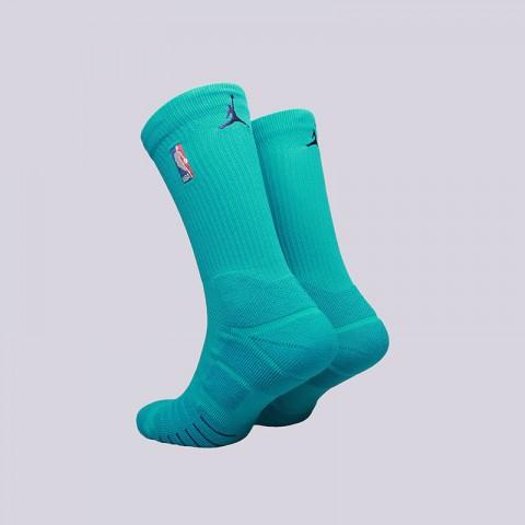 мужские голубые  носки jordan elite quick crew SX6363-428 - цена, описание, фото 2