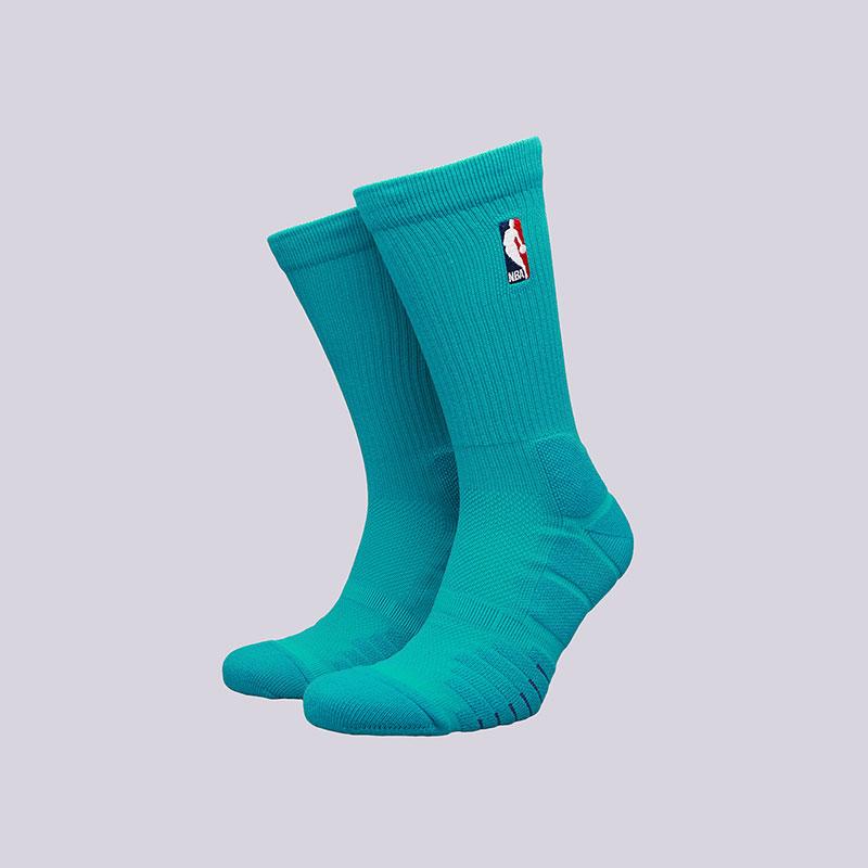 Носки Jordan Elite Quick CrewНоски<br>Полиэстер, нейлон, хлопок, эластан<br><br>Цвет: Голубой<br>Размеры US: M;L;XL<br>Пол: Мужской