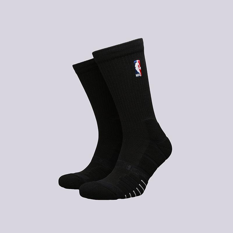 Носки Jordan Elite Quick CrewНоски<br>Полиэстер, нейлон, хлопок, эластан<br><br>Цвет: Черный<br>Размеры US: M;L;XL<br>Пол: Мужской