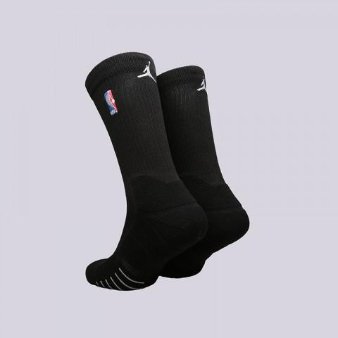 мужские черные  носки jordan elite quick crew SX6363-010 - цена, описание, фото 2
