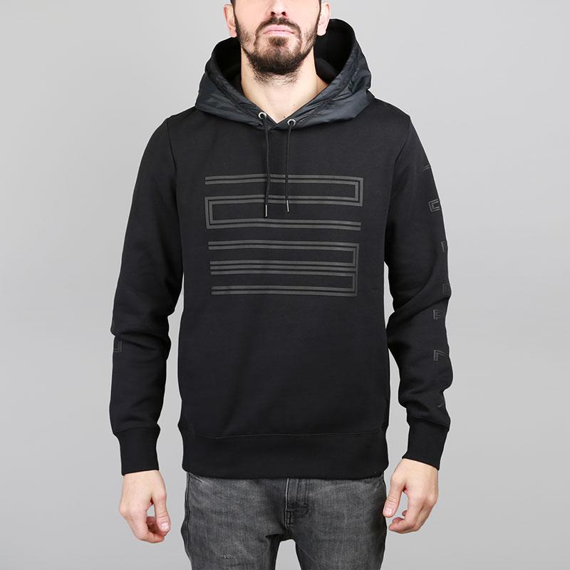 Толстовка Jordan AJ 11 Hybrid Pullover HoodieТолстовки свитера<br>Хлопок, полиэстер<br><br>Цвет: Черный<br>Размеры US: S;M<br>Пол: Мужской