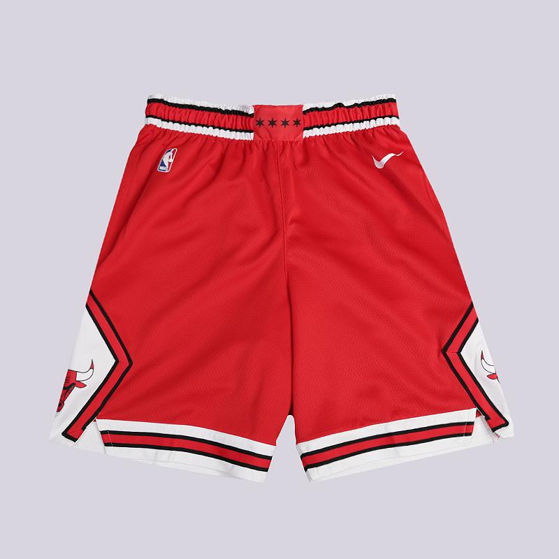 Шорты Nike Chicago Bulls Icon Edition Swingman NBA ShortsШорты<br>100% полиэстер<br><br>Цвет: Красный<br>Размеры US: S;M;L;XL;2XL<br>Пол: Мужской