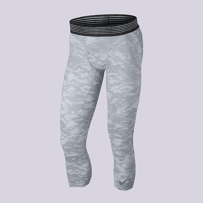 Тайтсы Nike Pro Dry  23Компрессионное белье<br>90% полиэстер, 10% эластан<br><br>Цвет: Серый, белый<br>Размеры US: 2XL;XL;L;M;S<br>Пол: Мужской