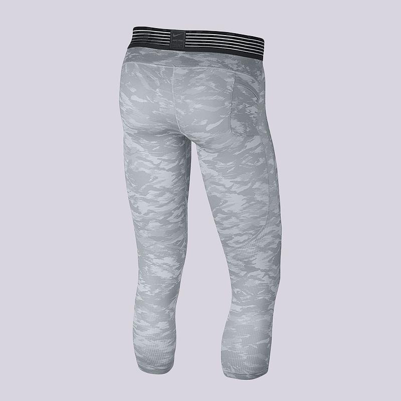 ceebdb80 мужские серые, белые тайтсы nike pro dry 23 880837-043 - цена, описание