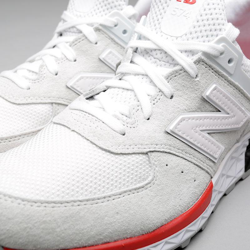мужские белые кроссовки new balance 574 MS574AW D - цена, описание, фото 5 eb9f63ef0b8