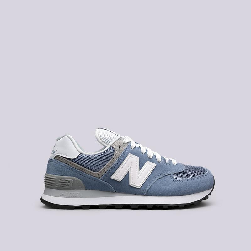 b992dd2423a666 женские голубые кроссовки new balance 574 WL574CC/B - цена, описание, фото 1