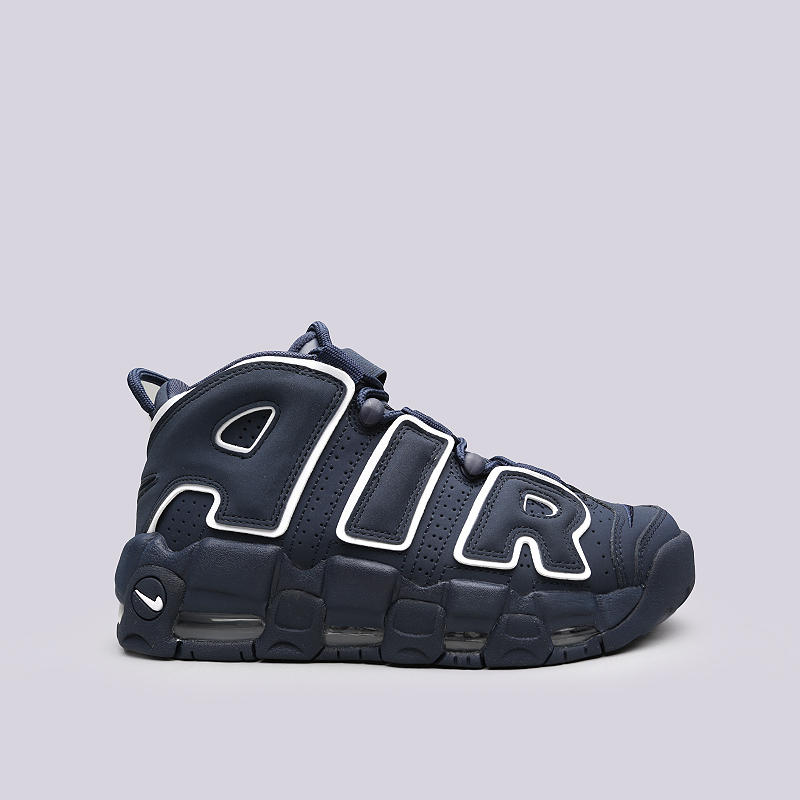 Кроссовки Nike Air More Uptempo `96Кроссовки lifestyle<br>Кожа, текстиль, резина<br><br>Цвет: Синий<br>Размеры US: 8<br>Пол: Мужской