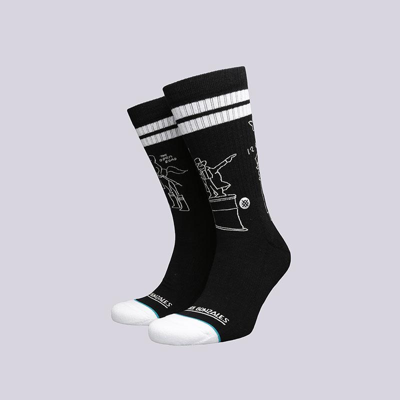 Носки Stance ShellНоски<br>Хлопок, эластан<br><br>Цвет: Черный, белый<br>Размеры : L<br>Пол: Мужской