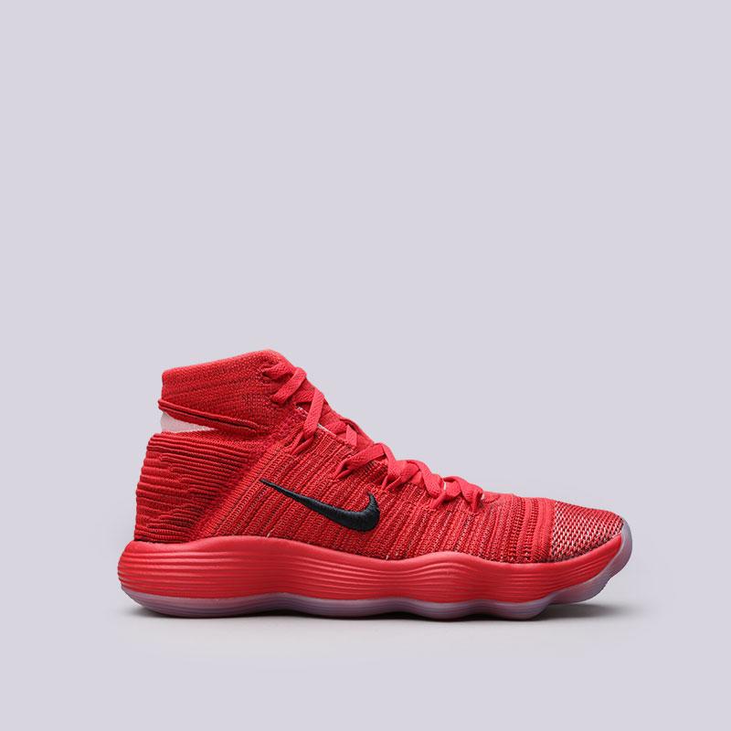 Кроссовки Nike Hyperdunk 2017 FlyknitКроссовки баскетбольные<br>Текстиль, резина<br><br>Цвет: Красный<br>Размеры US: 7;8;8.5;9;9.5;10;11;12<br>Пол: Мужской