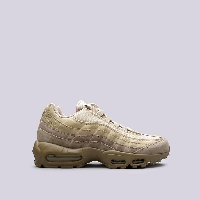 Кроссовки Nike Air Max 95 PRMКроссовки lifestyle<br>Синтетика<br><br>Цвет: Бежевый<br>Размеры US: 8;8.5;9;9.5;10;10.5;11;11.5;12;12.5;13;14;15<br>Пол: Мужской