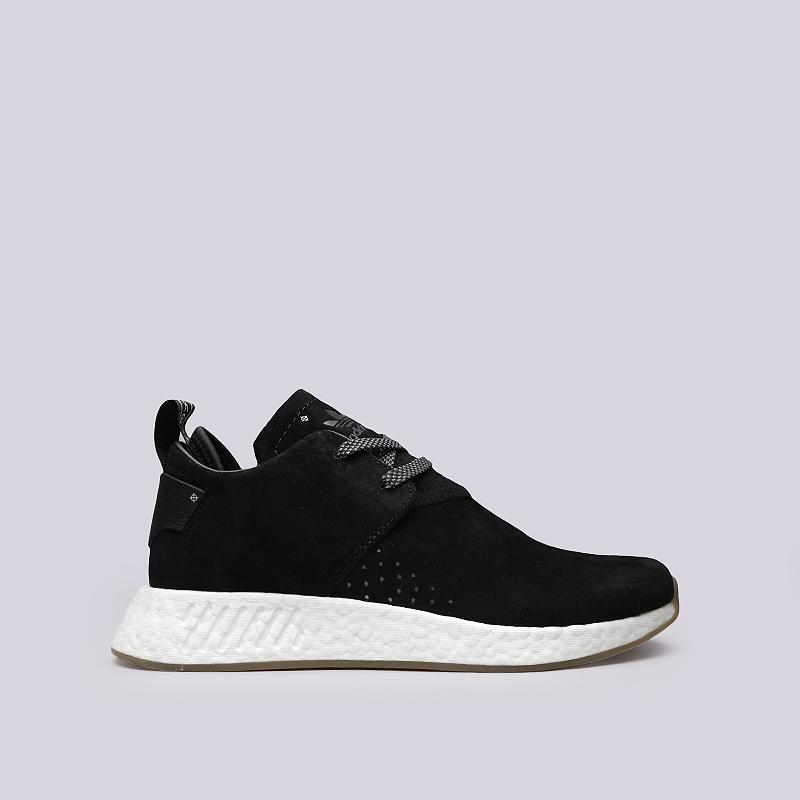Кроссовки adidas NMD_C2Кроссовки lifestyle<br>Кожа, текстиль, резина<br><br>Цвет: Черный<br>Размеры UK: 7;12;13.5<br>Пол: Мужской