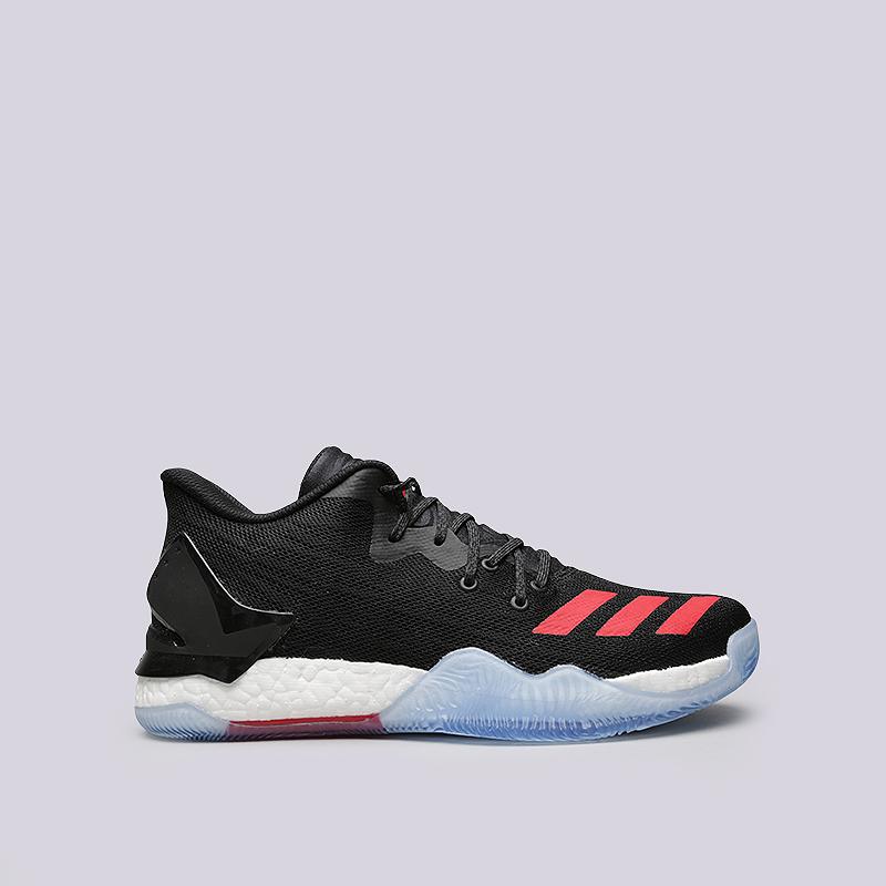 Кроссовки adidas D Rose 7 LowКроссовки lifestyle<br>Синтетика, текстиль, резина<br><br>Цвет: Черный, белый, красный<br>Размеры UK: 7.5;12;14<br>Пол: Мужской