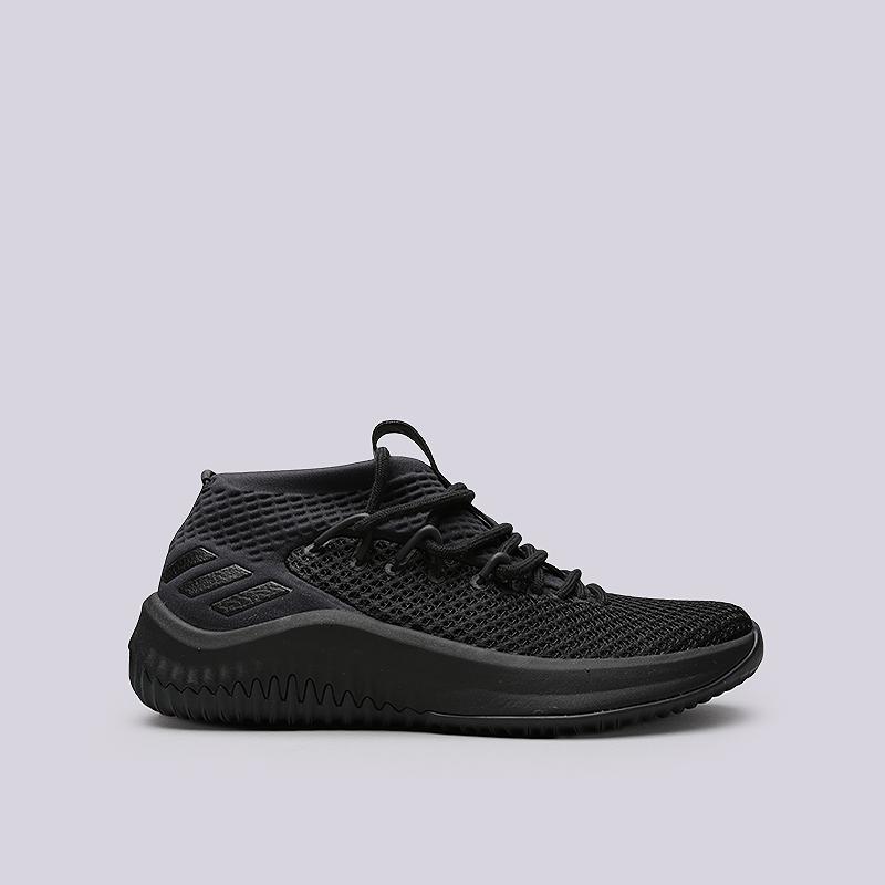 Кроссовки adidas Dame 4Кроссовки баскетбольные<br>Текстиль, резина<br><br>Цвет: Черный<br>Размеры UK: 7;7.5;8;8.5;9;9.5;10;10.5;11;11.5;12;12.5;13;13.5;14<br>Пол: Мужской