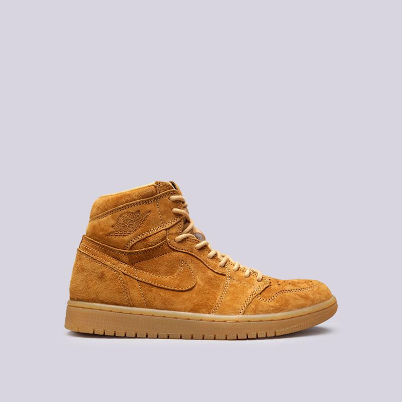 Кроссовки Jordan 1 Retro High OGКроссовки lifestyle<br>Кожа, текстиль, резина<br><br>Цвет: Коричневый<br>Размеры US: 8;8.5;9;9.5;10;10.5;11;11.5;12;12.5;15<br>Пол: Мужской