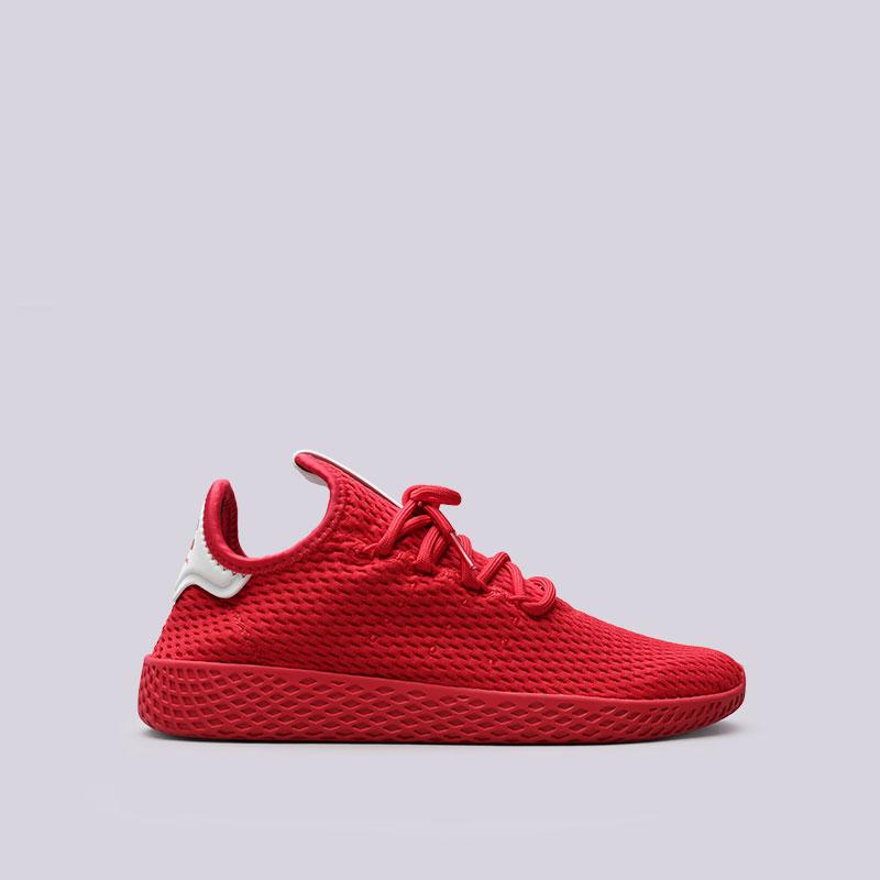 Кроссовки adidas PW Tennis HUКроссовки lifestyle<br>Текстиль, кожа, резина<br><br>Цвет: Красный<br>Размеры UK: 5.5;6;6.5;7;7.5;8;8.5;9.5;11.5