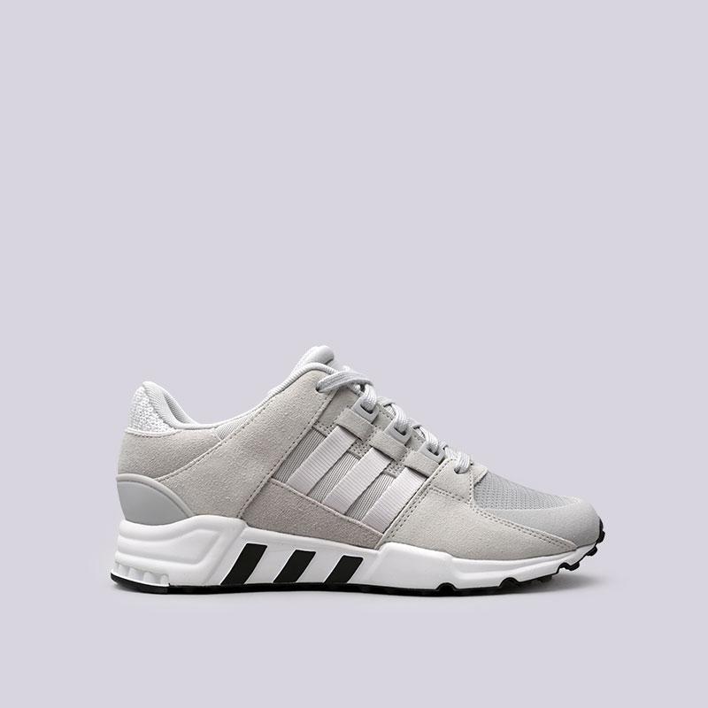 Кроссовки adidas EQT Support RFКроссовки lifestyle<br>Текстиль, кожа, резина<br><br>Цвет: Серый<br>Размеры UK: 7;11.5<br>Пол: Мужской