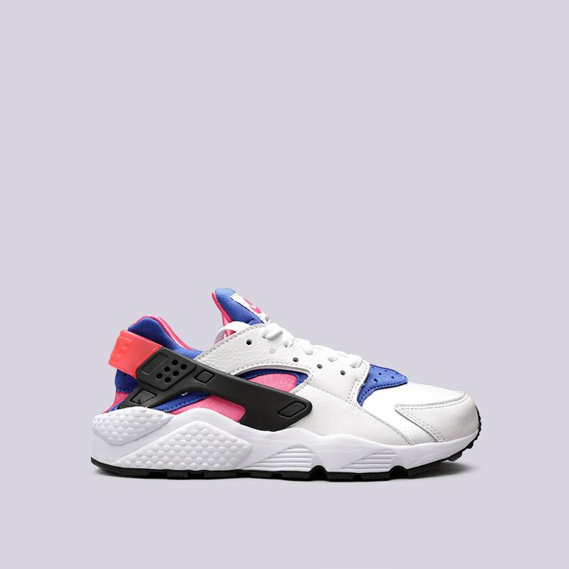 Кроссовки Nike Air Huarache Run 91 QSКроссовки lifestyle<br>Текстиль, кожа, резина, пластик<br><br>Цвет: Белый<br>Размеры US: 6;7.5;8;8.5;9;9.5;10;11