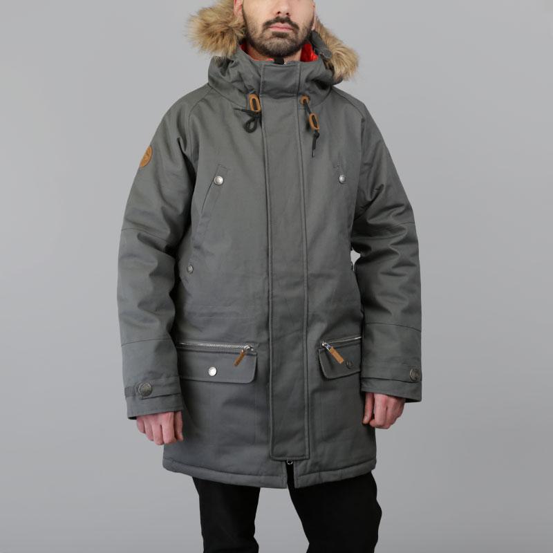 Куртка Запорожец heritage AlaskaКуртки, пуховики<br>Полиэфир, хлопок<br><br>Цвет: Серый<br>Размеры : S;M;L<br>Пол: Мужской