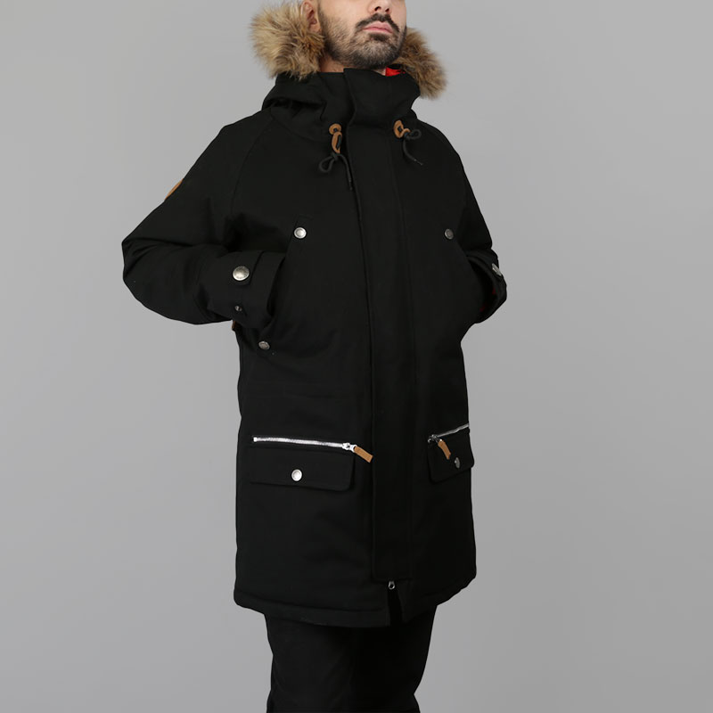 Куртка Запорожец heritage AlaskaКуртки, пуховики<br>Полиэфир, хлопок<br><br>Цвет: Черный<br>Размеры : S;M<br>Пол: Мужской