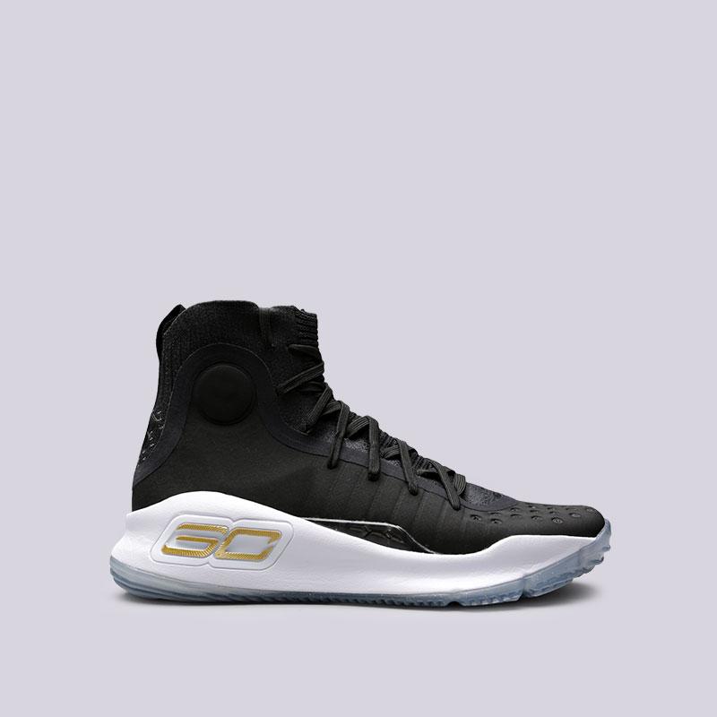 Кроссовки Under armour UA Curry 4Кроссовки баскетбольные<br>Текстиль, синтетика, резина<br><br>Цвет: Черный<br>Размеры US: 7;8;8.5;9;9.5;11.5;12;13<br>Пол: Мужской