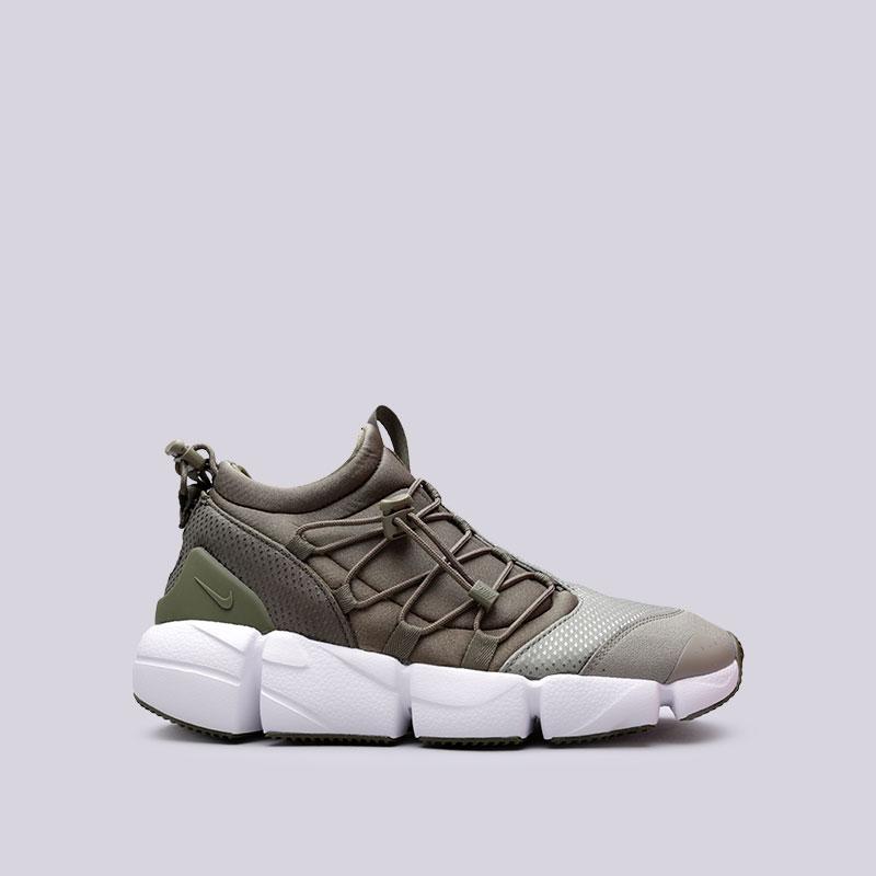 Кроссовки Nike Air Footscape Utility DMКроссовки lifestyle<br>Текстиль, синтетика, резина, пластик<br><br>Цвет: Зелёный<br>Размеры US: 9;9.5;11;12<br>Пол: Мужской