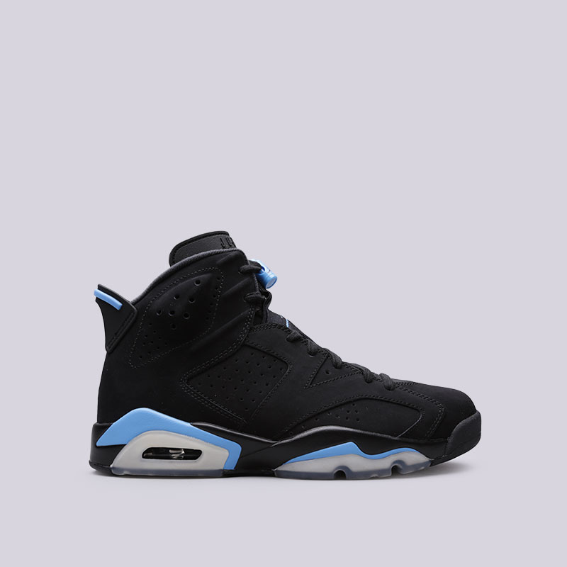 Кроссовки Jordan VI RetroКроссовки lifestyle<br>Кожа, синтетика, текстиль, резина<br><br>Цвет: Чёрный<br>Размеры US: 9.5;10<br>Пол: Мужской