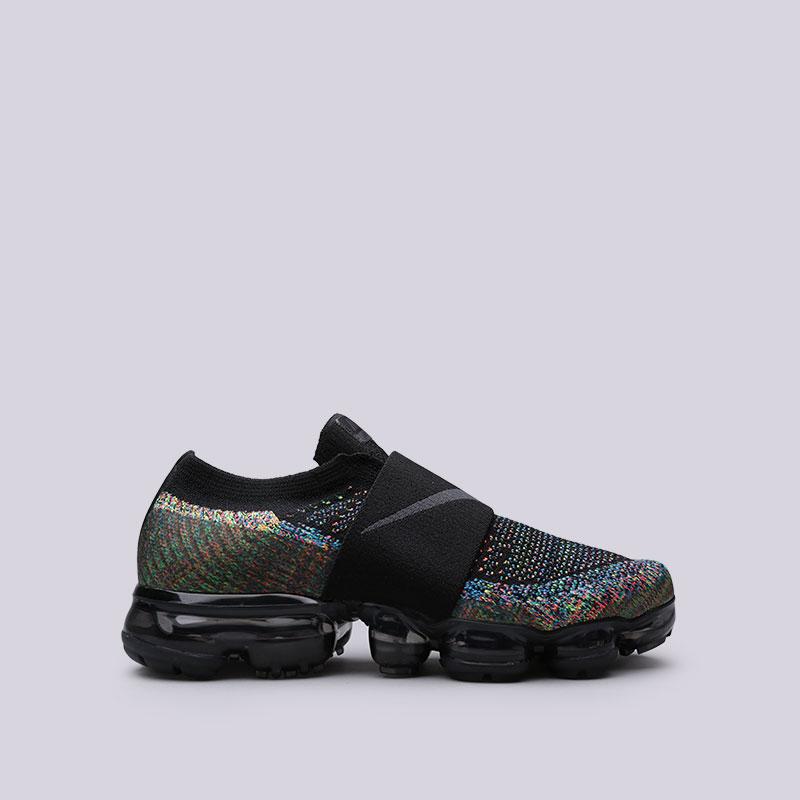 Кроссовки Nike WMNS Air Vapormax FK MocКроссовки lifestyle<br>Пластик, текстиль, резина<br><br>Цвет: Черный<br>Размеры US: 6.5;7;7.5<br>Пол: Женский