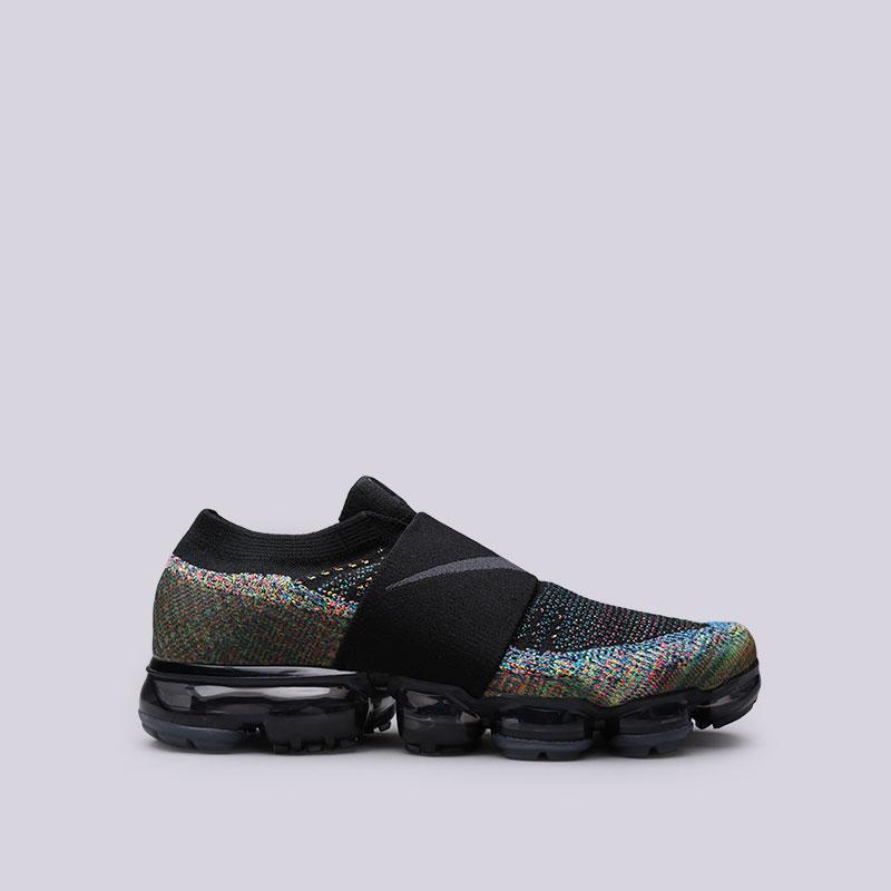 Кроссовки Nike Air Vapormax Flyknit MocКроссовки lifestyle<br>Пластик, текстиль, резина<br><br>Цвет: Черный<br>Размеры US: 8.5;9;10;11<br>Пол: Мужской