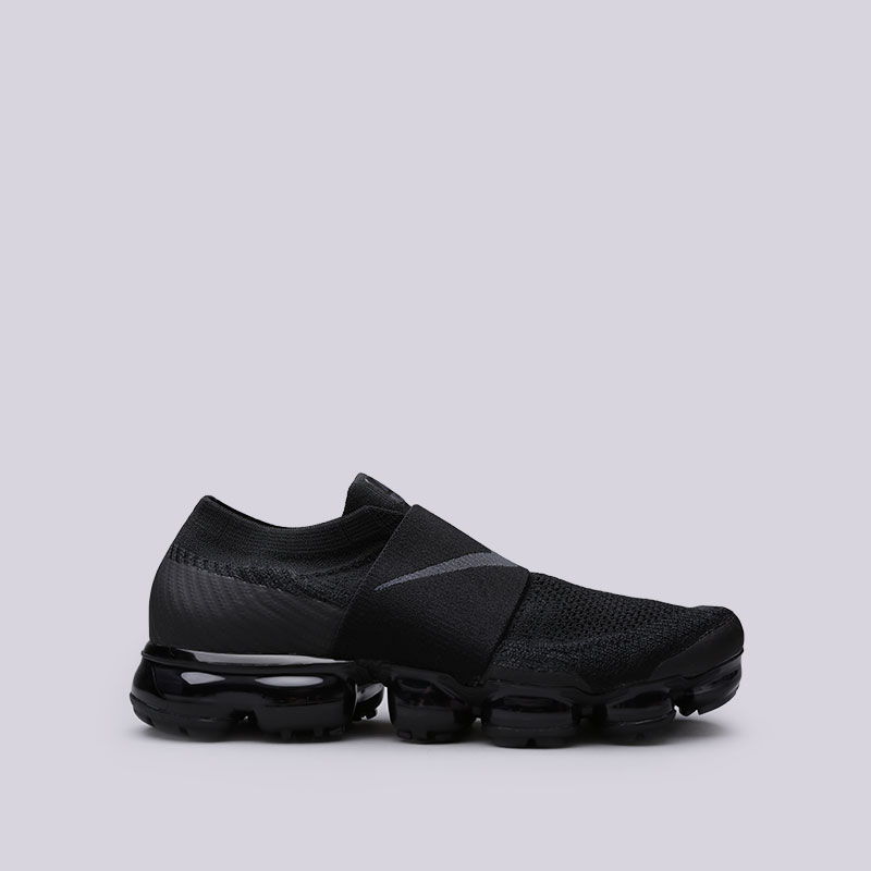 Кроссовки Nike Air Vapormax Flyknit MocКроссовки lifestyle<br>Пластик, текстиль, резина<br><br>Цвет: Черный<br>Размеры US: 9.5;10<br>Пол: Мужской