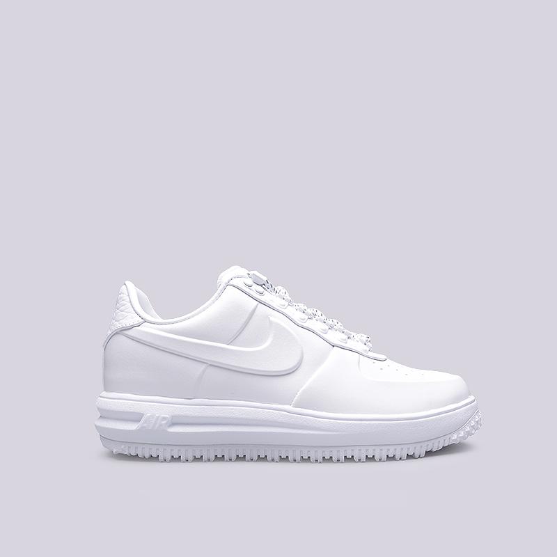 Ботинки Nike LF1 Duckboot Low PRMБотинки<br>Синтетика, текстиль, резина<br><br>Цвет: Белый<br>Размеры US: 8;8.5;9;9.5;10;10.5;11;11.5;12;12.5;13<br>Пол: Мужской