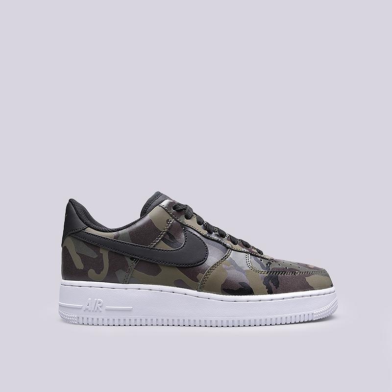 Кроссовки Nike Air Force 1 `07 LV8Кроссовки lifestyle<br>Синтетика, текстиль, резина<br><br>Цвет: Зеленый<br>Размеры US: 8;8.5;10;11;12<br>Пол: Мужской
