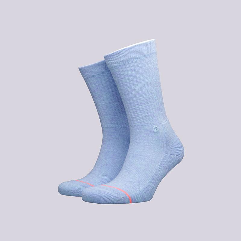 Носки Stance Uncommon ClassicНоски<br>Хлопок, полиэстер, нейлон, эластан<br><br>Цвет: Голубой<br>Размеры : M<br>Пол: Женский
