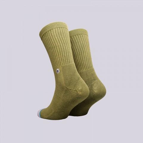 мужские зелёные  носки stance drab M556C17DRA- - цена, описание, фото 2