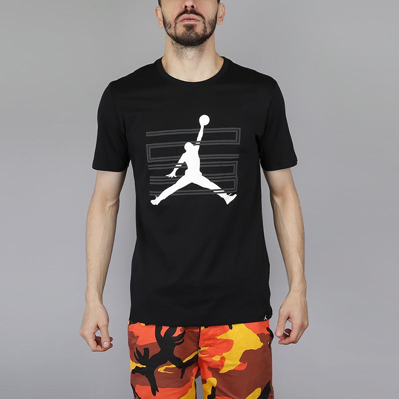 Футболка Jordan AJ 11 T-ShirtФутболки<br>100% хлопок<br><br>Цвет: Черный<br>Размеры US: S;M;XL;2XL<br>Пол: Мужской