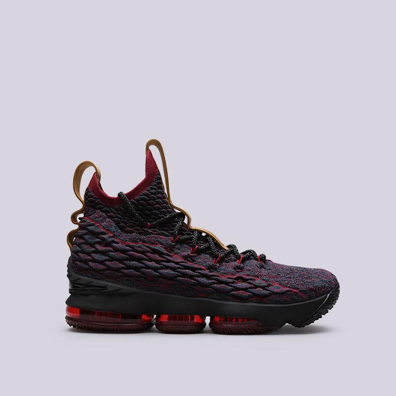 Кроссовки Nike Lebron XVКроссовки баскетбольные<br>Текстиль, синтетика, резина<br><br>Цвет: Фиолетовый<br>Размеры US: 7.5;8;8.5;9;13<br>Пол: Мужской