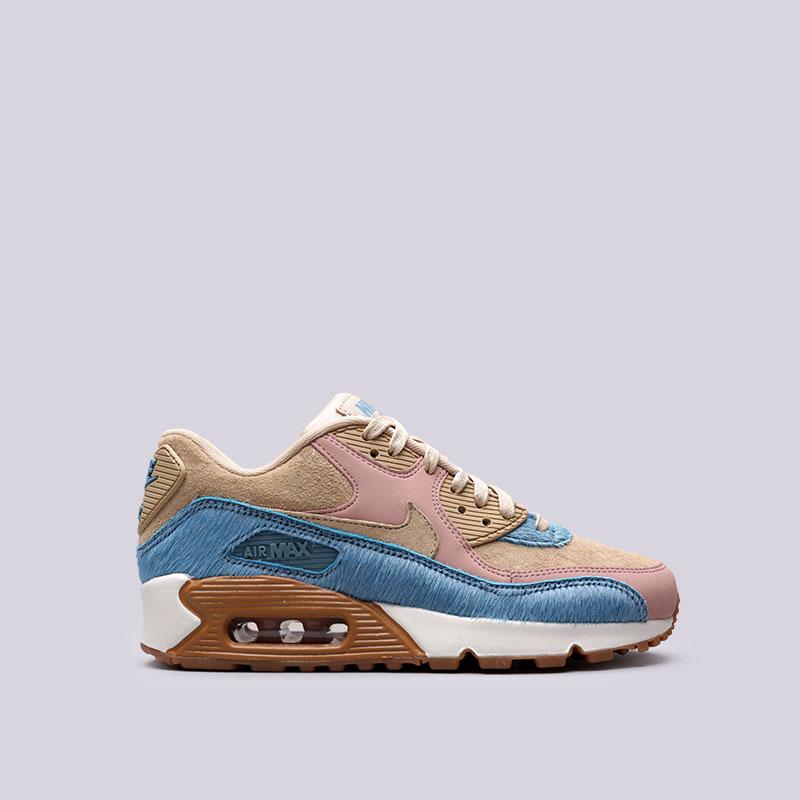 Кроссовки Nike WMNS Air Max 90 LXКроссовки lifestyle<br>Кожа, резина, текстиль, прочие материалы<br><br>Цвет: Розовый<br>Размеры US: 6;7<br>Пол: Женский