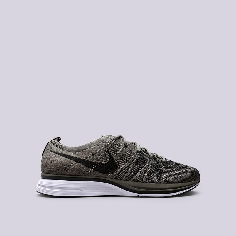 Кроссовки  Nike Flyknit TrainerКроссовки lifestyle<br>Текстиль, резина, пластик<br><br>Цвет: Зелёный<br>Размеры US: 8;8.5;9;9.5;10;10.5;11;12<br>Пол: Мужской
