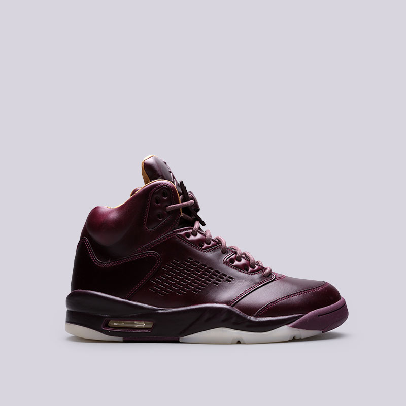Кроссовки Jordan V Retro PremКроссовки lifestyle<br>Кожа, резина<br><br>Цвет: Фиолетовый<br>Размеры US: 8.5;9;9.5;10.5;11<br>Пол: Мужской