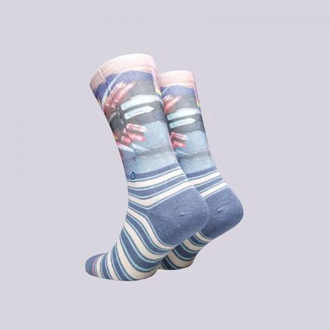 женские синие  носки stance hoy crew W525C17HOY- - цена, описание, фото 2