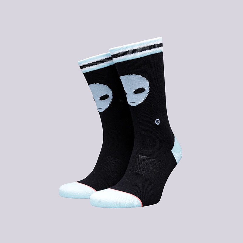 женские черные  носки stance supernatural W525C17SUP- - цена, описание, фото 1