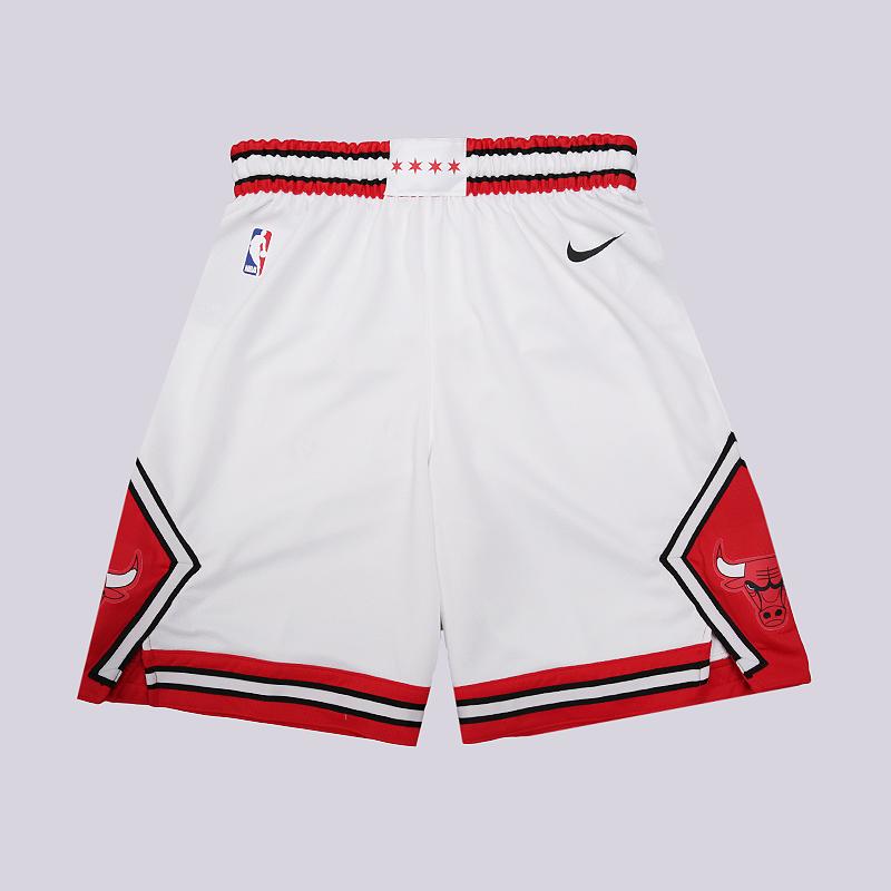 Шорты Nike Chicago Bulls Association Edition Swingman NBA ShortsШорты<br>100% полиэстер<br><br>Цвет: Белый<br>Размеры US: S;M;L;XL;2XL<br>Пол: Мужской