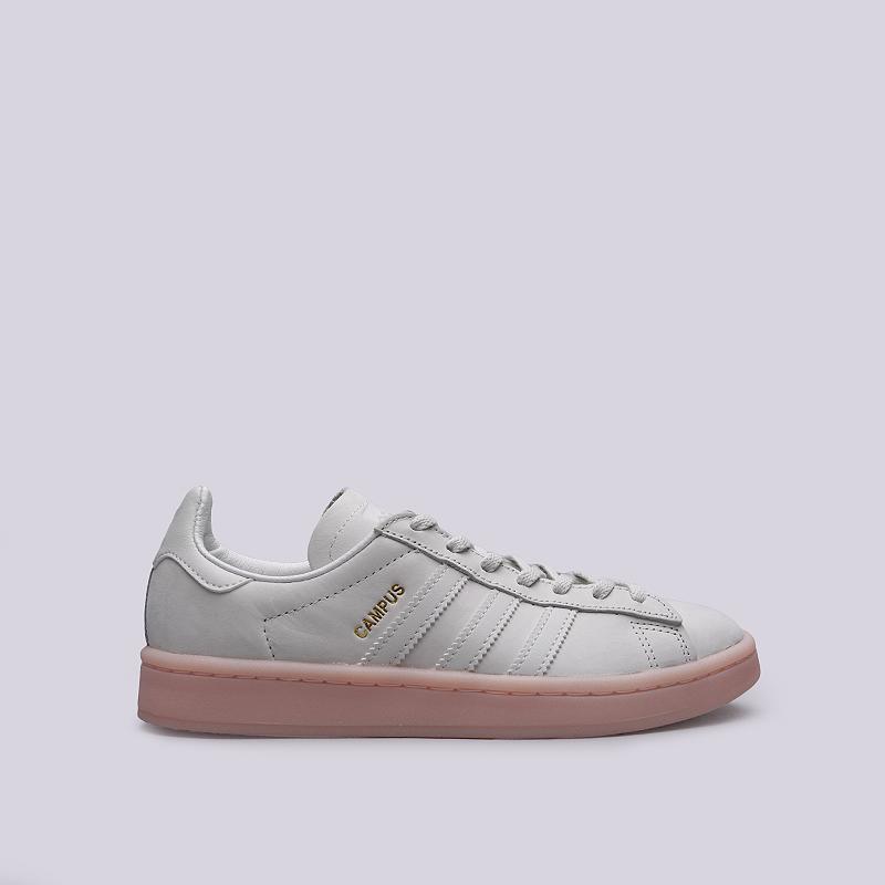 Кроссовки adidas Campus WКроссовки lifestyle<br>Кожа, текстиль, резина<br><br>Цвет: Серый<br>Размеры UK: 5.5;6;6.5;7.5;8<br>Пол: Женский
