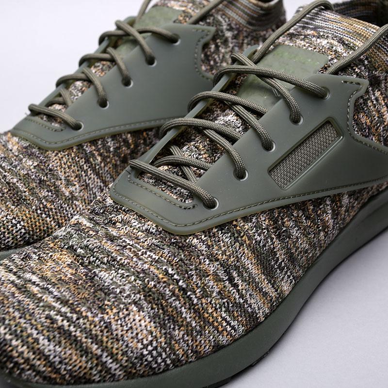 зелёные  кроссовки reebok zoku runner ultk multi CM9675 - цена, описание, фото 5
