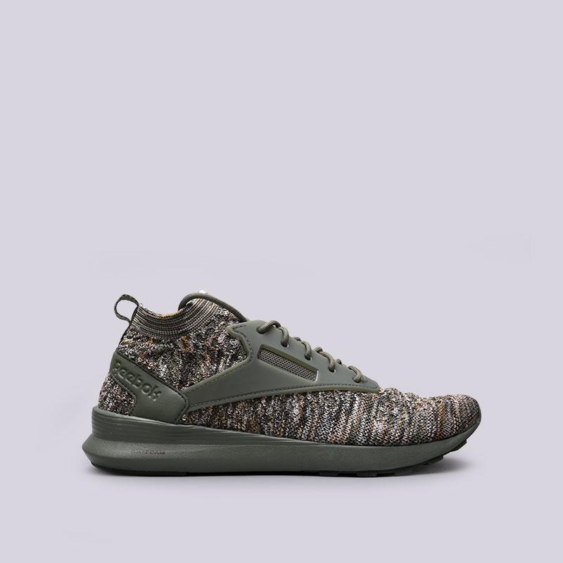 зелёные  кроссовки reebok zoku runner ultk multi CM9675 - цена, описание, фото 1