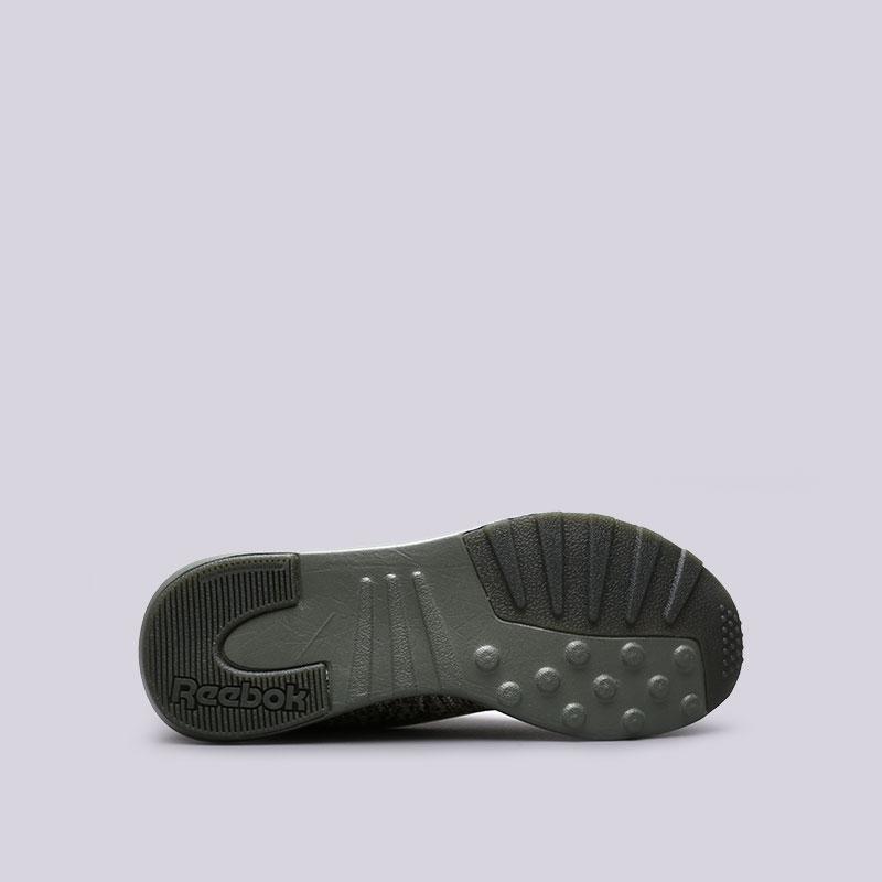 зелёные  кроссовки reebok zoku runner ultk multi CM9675 - цена, описание, фото 2